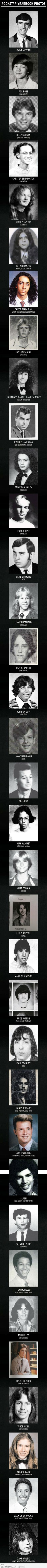 Rockstar Highschool Yearbook Photos    @Tracey Andrew