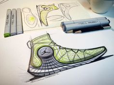 Behind The Scenes By conceptkicks Sneakers Sketch, Shoe Warehouse, Shoe Sketches, Hand Sketch, Best Logo Design, Designer Boots, Cool Logo, Nike, Casual Shoes
