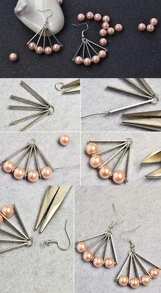 Cross Jewelry / Diamond Earrings / Tiny Diamond Cross Studs in Rose Gold / Rose Gold Earrings / Religious Jewelry Gift / Christmas Gfit - Fine Jewelry Ideas Cross Jewelry, Wire Jewelry, Jewelry Crafts, Beaded Jewelry, Jewelery, Jewelry Logo, Boho Jewelry, Beaded Earrings, Earrings Handmade