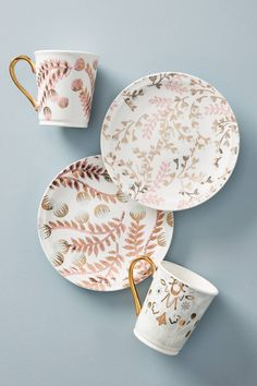 New Kitchen, Kitchen Dining, Coffee Candle, Anthropologie Uk, Dinnerware Sets, Kitchen Essentials, A 17, Tea Cups, Decorative Plates