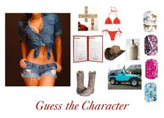 Jamberry game Guess the Character game Daisy Duke Dukes of Hazzard nail wrap