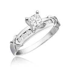 Matching Wedding Rings with Authentic Diamonds at Affordable Prices – see how four generations of expertise makes us the modern jeweler for the modern couple! Arm Party, 2 Carat, Solitaire Engagement, Best Gifts, White Gold, My Style, Coupon, Stuff To Buy, Facebook