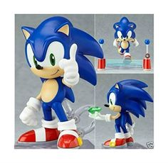 4 Nendoroid Series Sonic the Hedgehog PVC Figure @ niftywarehouse.com #NiftyWarehouse #Sonic #SonicTheHedgehog #Sega #VideoGames #Gaming