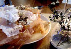Swedish tease: fried rice paper & fish skin #TrySwedish #NORTH2014 #NordicFoodFestival @go_tourist @VisitSwedenUS pic.twitter.com/vbKrLFCO3Q