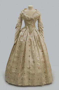 Pearl Satin Wedding Dress - Albany Institute of History and Art