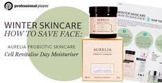 Add our Cell Revitalise Day Moisturiser to your winter skincare