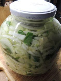 Pickles s medvědím česnekem | Zelené střípky
