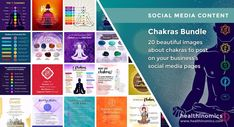 "❤️ SOCIAL MEDIA CONTENT ❤️ 💎 Chakras Bundle - The word ""chakra"" from Sanskrit translates to ""wheel"" or ""disk,"" but references a spiritual energy center within the human body. There are seven chakras along the spine, through the neck and the crown of your head. While each chakra has its own distinct properties, they're all thought to work as a system. That means if one's out of balance, it affects all the rest. #chakras Seven Chakras, 7 Chakras, Sacral Chakra, Social Media Images, Social Media Content, Chakra Locations, Throat Problems, Thyroid Imbalance, Memory Problems"