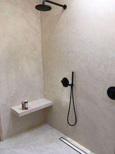 How To Transfer Onto Ceramic - with relish Concrete Bathroom, Bathroom Wall, Small Bathroom, Bathroom Ideas, Dream Bathrooms, Concrete Shower, Hotel Bathrooms, Minimal Bathroom, Bad Inspiration