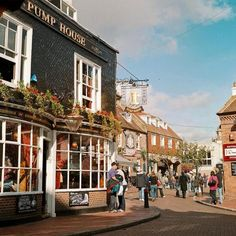 of most picturesque shopping streets in Europe Brighton Lanes, Brighton, EnglandBrighton Lanes, Brighton, England Brighton England, Brighton Lanes, Brighton Sussex, Brighton And Hove, East Sussex, England Uk, Oh The Places You'll Go, Places To Travel, Places To Visit