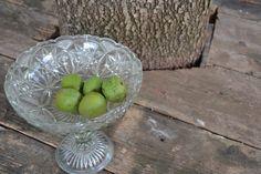 Simple green walnut under the oak