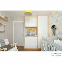 O quarto de bebê por @ts_projetos