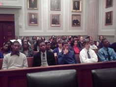 Seniors from Surry County High School participate in the 4-H General Assembly Field Trip touring the VA supreme Court, the Capitol, meet their legislators and view the House and Senate sessions.  This program is a mixture of classroom and field trip endeavors to teach Citizenship and Civic Engagement.