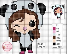 Cross Stitching, Cross Stitch Embroidery, Embroidery Patterns, Cross Stitch Patterns, Knitting Patterns, Cross Stitch For Kids, Cross Stitch Baby, Pixel Art, Plastic Canvas Patterns