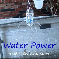 Water Power - Demonstrate how a hydroelectric power plant works and get wet in the process! ScienceKiddo.com