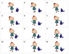 Peg + Cat flip book printable. Related to Cycle 3 Week 1 Science Experiment.