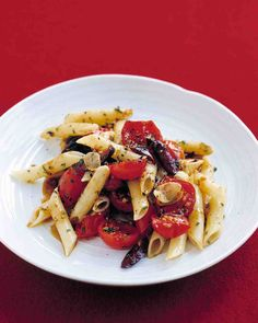 Tomato and Olive Penne  Best. Pasta. Ever.