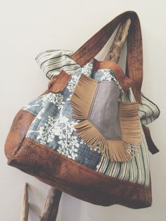 Shoulder Bag [ handmade by jardimdevidro ]