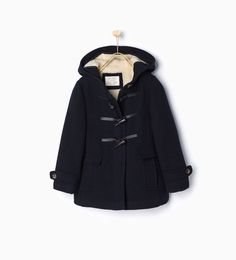 Duffle coat with furry hood-View all-Coats-Girl | 4-14 years-KIDS ...