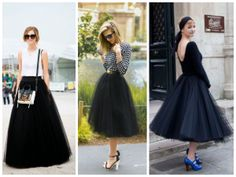 How to wear a tulle skirt without looking like a ballerina? The tulle skirt you can wear in many ways. I prepare some inspirations in different styles. I hope that everyone will find something special. Mix textures, accessories and colors. Sophisticated Outfits, Prom Dresses, Formal Dresses, Perfect Woman, Different Styles, Passion For Fashion, Beautiful Outfits, Fashion Looks, Glamour