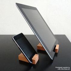 iPad Stand/ iPad Mini Stand / Kindle Fire HD Stand от woodworksRD, $15.00