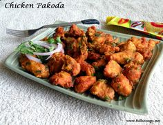 Chicken Pakoda / Pakora / Chicken Fritters
