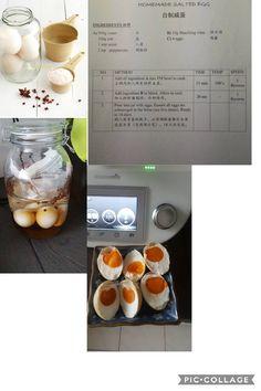 Homemade Salted Eggs
