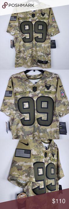 bf4b0b8967931 Nike NFL Hou Texans Salute to Svc Jersey JJ Watt Nike NFL Houston Texans  Salute To