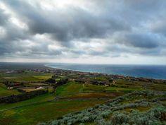 Sardinia landscape: Panorama del litorale e delle campagne di Sorso da località Tres Montes #igers_sardegna #ig_sardinia #iger_sassari #volgosassari #sardegnaofficial #lanuovasardegna #focusardegna #sardegna_super_pics #bestsardegnapics #loves_sardegna #loves_united_sardegna #loves_sassari #loves_nature #nature #naturelovers #sardegnamylove #skylovers #sky #clouds #bestoftheday #pictureoftheday #instagramsardegna #streetphotography #photogrid #ig_exquisite #ig_perlas #volgosardegna…