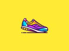 Sneakers by Bujar Ljubovci #Design Popular #Dribbble #shots