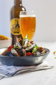 Moules marinières à la bière/chorizo et estragon | La Raffinerie Culinaire