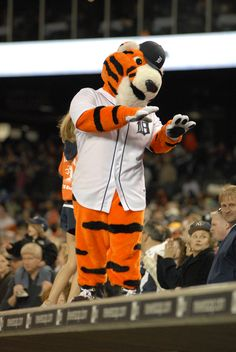 PAWS leads a cheer during the 7th inning stretch!