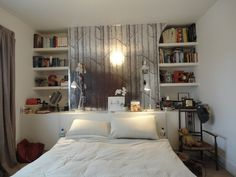 Like the shelves and built in bedside cabinets