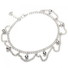 4.06$  Buy now - http://di6fu.justgood.pw/go.php?t=152681701 - Retro Tiny Bell Tassel Anklet For Women