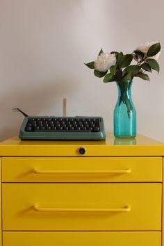 tec tec tec.. máquinas de escrever ♥
