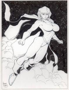 Power Girl by Arthur Adams