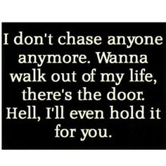 I'VE POSTED SOMETHING SIMILAR BUT IT'S AN ISSUE THAT MANY OF US DO. CHASE. WHEN YOU WERE YOUNG & SOMEONE CHASED YOU, WHAT DID YOU DO? RUN AWAY & FAST. WE ARE PROGRAMED TO RUN. BUT WE ARE NOT 5 ANYMORE SO WHY DO WE FEEL THE NEED TO STILL RUN? AND WHY DON'T WE WANT THE PERSON WHO IS CHASING US USUALLY? OR IS IT JUST A NORMAL REACTION? AND WHY IS IT THAT THINGS OUT OF REACH WE FEEL MORE VALUE? WE MAKE IT CLEAR THAT IT'S A TURN OFF. HOW? WE BASICALLY http://instagram.com/p/wIFMPvia2s/?modal=true