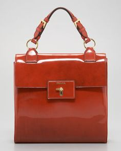 Spazzolato Handbag by Prada at Neiman Marcus.