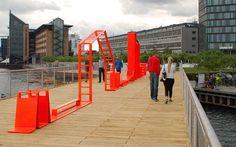Skinny Playscape, Kalvebod Brygge Copenhagen, JDS Architects, 2013 - Playscapes