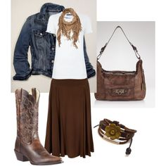 """Western Wear"" by daisyhedo on Polyvore"