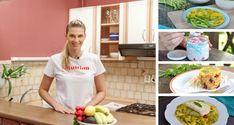 Mirka Luberdová nám prezradila recepty na celý deň, ktoré môžu patriť aj do tvojho zdravého jedálnička. Na raňajky omeleta, na desiatu chia puding, na obed polievka a rizoto, na olovrant placky a na večeru tagliatelle. Chia Puding, Food And Drink, Veggies, Health Fitness, Cooking Recipes, Ethnic Recipes, Vegetable Recipes, Health And Fitness