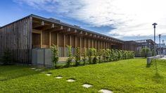 """Crèche Colin Maillard - Saint-Genis-Pouilly - Exposition """"Prises de vues points de vue : 25 ans d'architecture publique dans l'Ain"""""""