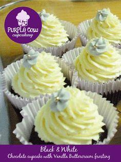 Black& White Cupcakes