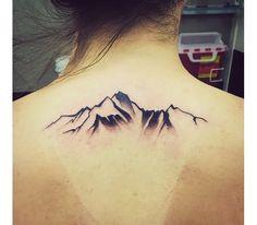 Mountain tattoo (alittle smaller tho)