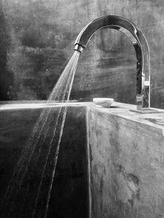 Bañera de hormigón #bath #concrete #architecture #minimalismo #design