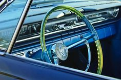 1961 Pontiac Catalina Steering Wheel Photograph by Jill Reger - 1961 Pontiac Catalina Steering Wheel Fine Art Prints and Posters for Sale