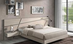 Home decor bedroom Bed Headboard Design, Bedroom Bed Design, Bedroom Furniture Design, Modern Bedroom Design, Bed Furniture, Home Decor Bedroom, Bedroom Designs, Mid Century Bedroom, Luxurious Bedrooms