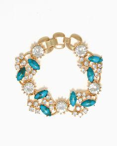 charming charlie | Floral Fancy Bracelet | UPC: 410006503939 #charmingcharlie