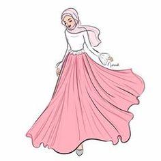 70 Ideas For Illustration Art Girl Fashion Life Muslim Fashion, Modest Fashion, Hijab Fashion, Fashion Art, Girl Fashion, Fashion Drawing Dresses, Fashion Illustration Dresses, Illustration Girl, Dress Design Sketches