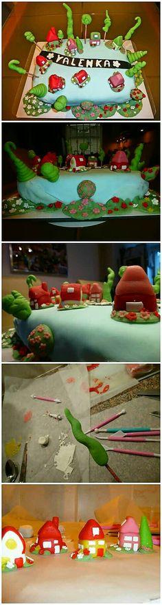Dorp taart.